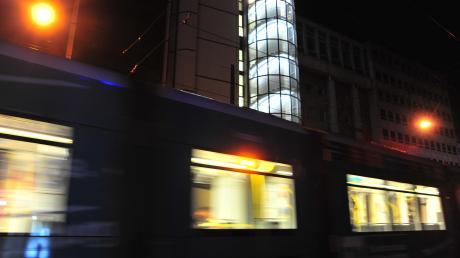 Erneut gab es einen Vorfall in einer Augsburger Straßenbahn.