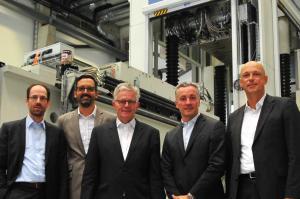 Innovationspark Augsburg: Diese Anlage verzahnt vier große Unternehmen