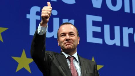 Manfred Weber wird in der CSU geradezu euphorisch gefeiert. Er soll in Europa die Trendwende schaffen.
