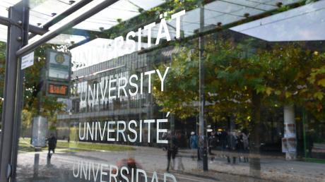 An der Uni  Augsburg gab es am Dienstag eine studentische Protestaktion. (Symbolbild)