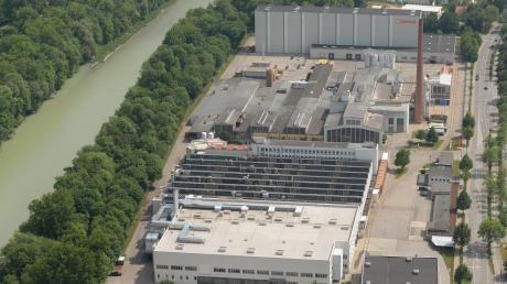 Das Ledvance-Gelände liegt zwischen dem Lech und der Berliner Allee. 90.000 Quadratmeter ist es groß.