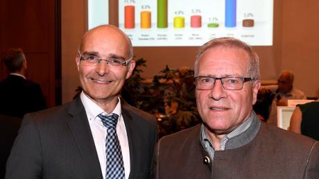 Andreas Jäckel (links) und Johannes Hintersberger holten sich die Augsburger Direktmandate.