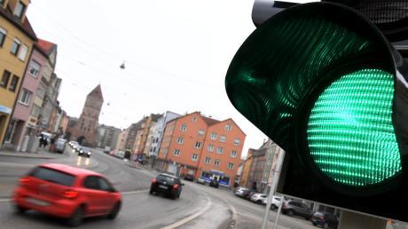 Intelligente Ampeln sollen den Verkehr in der Jakobervorstadt flüssiger machen.