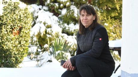 Die Schreie der Eltern nach der Lawine in Berwang gehen ihr nahe: Karin Zimmermann war als Trainerin beim Skikurs-Abschlussrennen der DJK Leitershofen und wurde selbst von den Schneemassen erfasst.