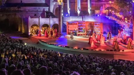 """Rund 34000 Besucher sahen 2018 das Fugger-Musical """"Herz aus Gold"""" auf der Freilichtbühne. 2020 soll es wieder gespielt werden."""