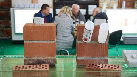 """Doppelmesse: Auf der """"Bau im Lot"""" präsentieren sich Handwerker."""