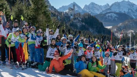 56 Skiläufer aus Bergheim, Inningen und Göggingen haben am diesjährigen BigskiCup teilgenommen.