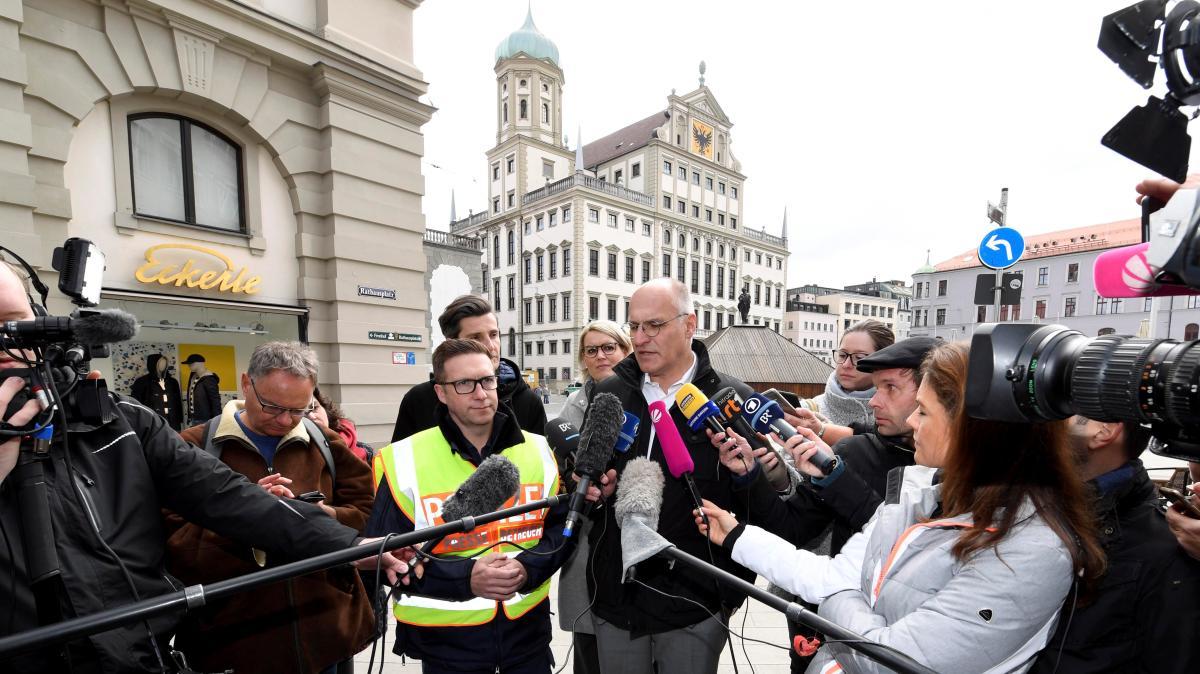 Bombendrohung Augsburg