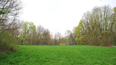 Das ist der Blick auf das Areal am Lech, auf dem möglicherweise Wohnungen entstehen könnten.