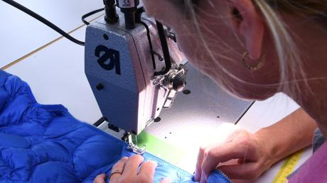 Auch bei Schöffel in Schwabmünchen ist Nachhaltigkeit in der Textilproduktion ein großes Thema.