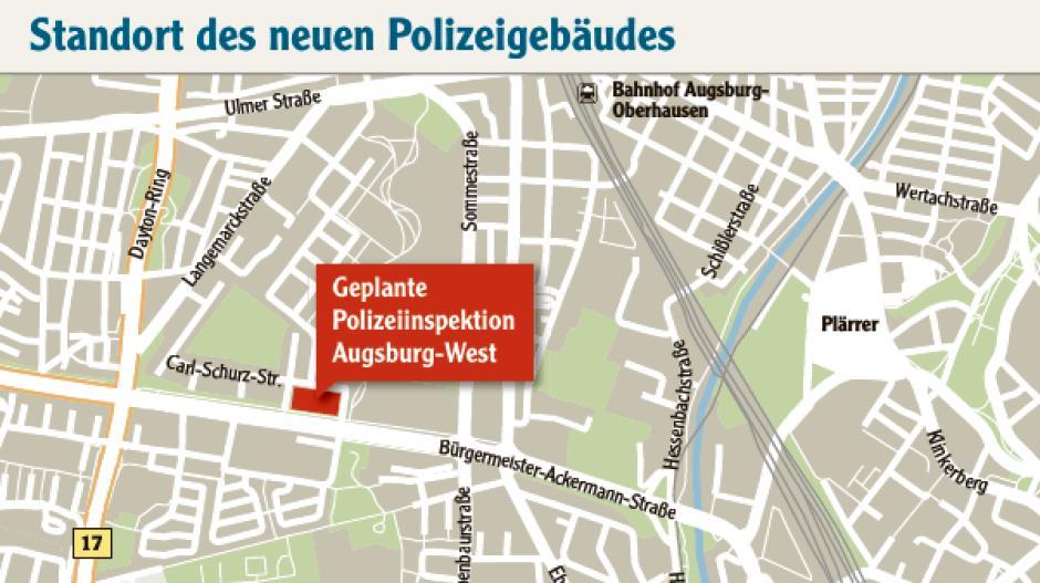 Polizeiinspektion Augsburg Süd