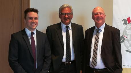 Sie leiten die Stiftung: Geschäftsführer Simon Fosseler, Vorstand Gunter Czisch und Bevollmächtigter Gerhard Semler (von links).