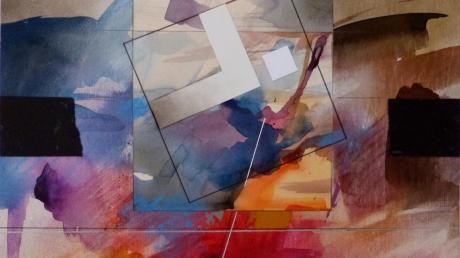 """""""Eine andere Welt"""" heißt dieses Kunstwerk von Eugen Keri, das bei Montmartre unter vielen anderen versteigert wird."""