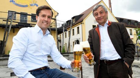 Für die Familie Priller, die hinter der Riegele-Brauerei steht, hat die Riegele-Bierkette eine besondere Bedeutung, wie Sebastian Priller junior und senior erklären.