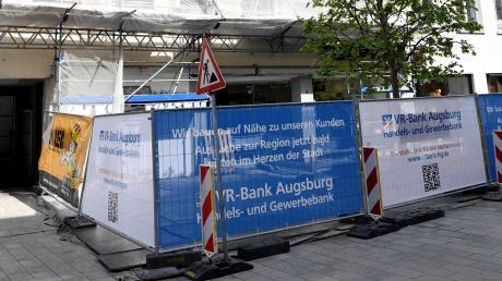 Die VR-Bank eröffnet eine Filiale in der Annastraße.