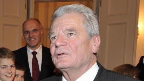 Joachim Gauck kommt nach Augsburg.