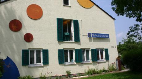 Ein Bild aus alten Tagen des Schullandheims Zusamzell.