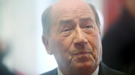 Erwin Müller im Jahr 2013. Der Milliardär zeigt sich gerne großzügig und spendet für wohltätige Zwecke, , scheut aber die Öffentlichkeit.