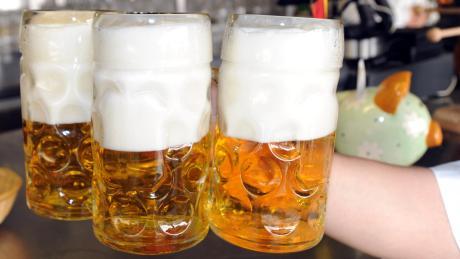Die Wirtschaft in Allmannshofen hat auch einen Biergarten für den Sommer.