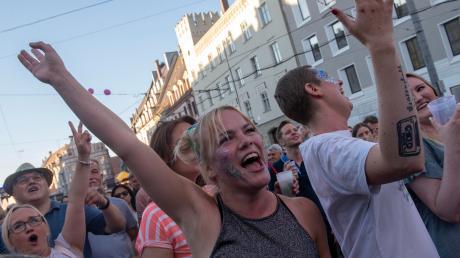 Die Augsburger können nicht feiern? Von wegen. Bei den Sommernächten beweisen sie das Gegenteil.