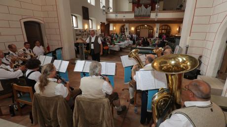Die Kapelle der Stadtwerke sorgte im vergangenen Jahr in der Jakobskirche für eine gemütliche Atmosphäre.