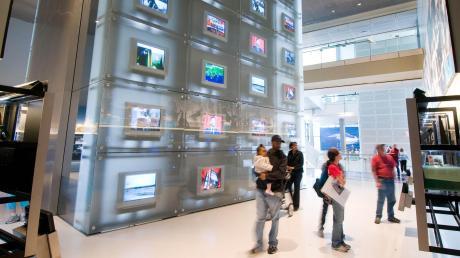 """Das große Vorbild: In Washington steht das """"Newseum"""", ein interaktives Medienmuseum. Für Augsburg war ein kleineres Projekt vorgesehen. Daraus wird nichts."""