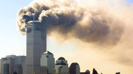 Diebrennenden Türme des World Trade Centers in Manhattan wurden zum Symbol des Terrors.