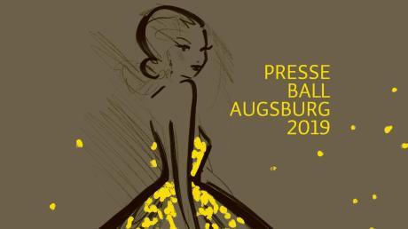Der Augsburger Presseball ist seit Jahrzehnten ein gesellschaftliches Ereignis. Dieses Jahr hat er sich ein frisches Design verordnet, gestaltet wurde es von Kera Till.