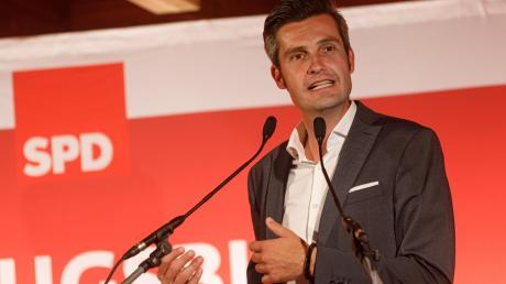 Ordnungsreferent Dirk Wurm ist der OB-Kandidat der SPD in Augsburg.