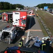 Auf der A8 hat es am Mittwoch einen tödlichen Unfall gegeben.