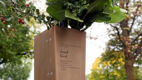 In Oberhausen wurde vor Kurzem ein Erinnerungsband für den kommunistischen Arbeiter und Widerstandskämpfer Josef Graf angebracht.