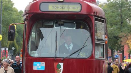 Fahrten mit der historischen Tram sind weiterhin in Augsburg möglich. Allerdings wird sie nicht mehr an kommerzielle Veranstalter vermietet.