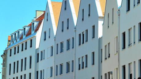Neubauten im Augsburger Domviertel: Der Mietspiegel soll vorgeben, welche Miethöhe in Augsburg angemessen ist.