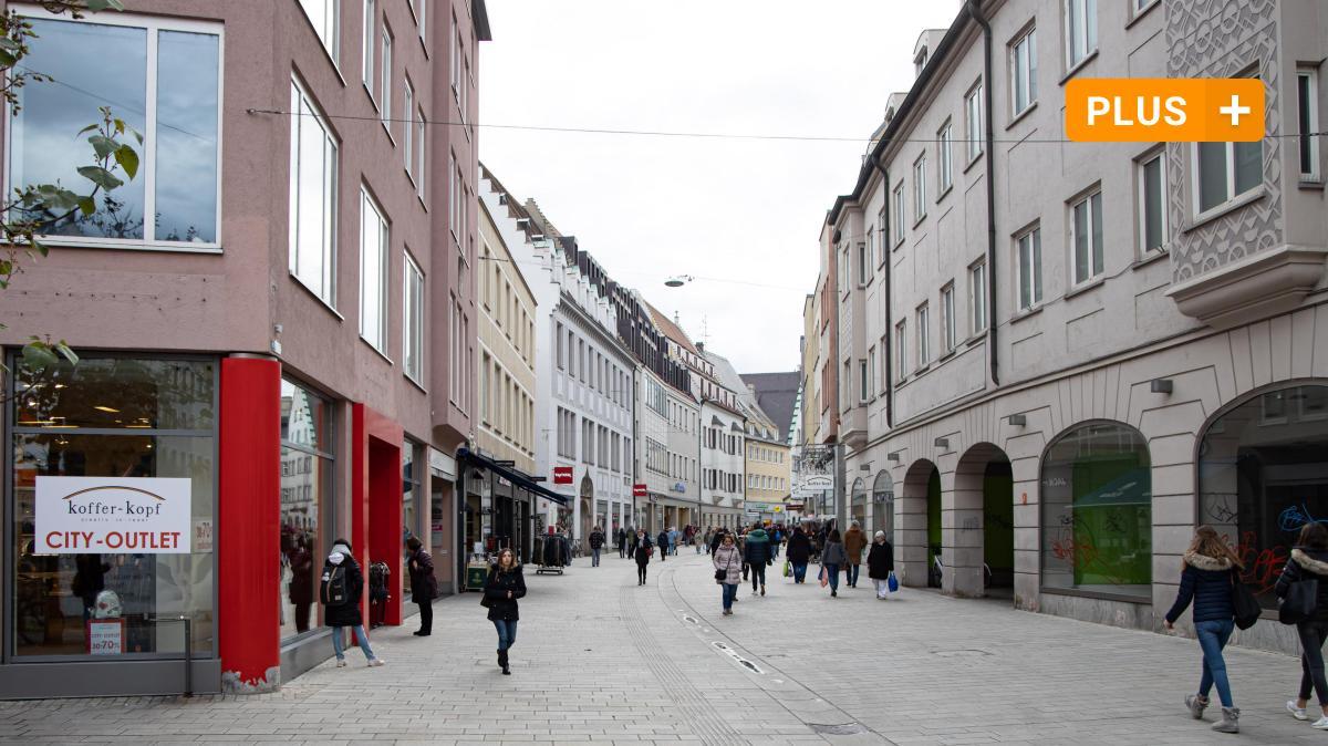 Wie man in Augsburg mit leer stehenden Geschäften umgehen will - Augsburger Allgemeine