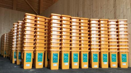 In Augsburg werden bis Mitte 2020 alle Gelben Tonnen durch neue Behälter ersetzt werden.