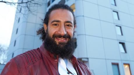 Seit mehr als einem Jahr ist Mouad Amrani deutscher Staatsbürger. Bis dahin war es für den gebürtigen Marokkaner ein langer Weg, der ihn auch ins Studentenwohnheim in Haunstetten führte.