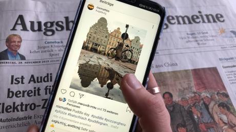 #augsburg: Auf Instagram finden sich zahlreiche Accounts, die mehr zu bieten haben als Fotos von den typischen Touri-Hotspots der Fuggerstadt.