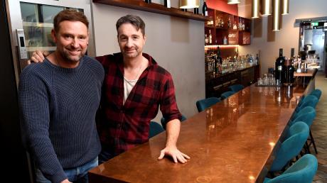 Werner Bahmann und Lucciano Bellano müssen ihr Steakrestaurant Red Rooster vorerst weiter geschlossen lassen.