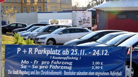 Der Plärrerparkplatz ist speziell für Besucher von auswärts attraktiv.