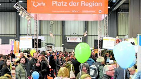 Die Augsburger Frühjahrsausstellung fand dieses Jahr mit einem neuen Konzept statt: Sie dauerte nur noch fünf anstatt neun Tage. Die Veranstalter zogen danach eine positive Bilanz.