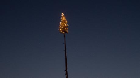 Es muss ja nicht der Weihnachtsbaum an der ausgefahrenen Betonpumpe für daheim sein, aber es gibt gute Alternativen.