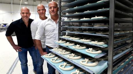 Die Balletshofer-Drillinge arbeiten eng und erfolgreich zusammen: (von links) Christian, Thomas und Michael Balletshofer.