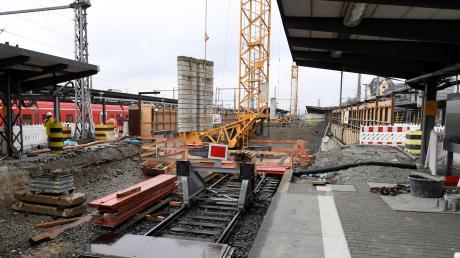 Die Großbaustelle Hauptbahnhof zählt für die Industrie- und Handelskammer zu den Hauptstellschrauben, um den Wirtschaftsraum im Wettbewerb der Regionen zukunftsfähig zu machen.