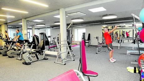 Doppelten Platz und zusätzliche Trainingsgeräte finden die 3400 Mitglieder der TSG Hochzoll in der Wendelsteinstraße vor, seit der Umbau bei laufendem Betrieb abgeschlossen ist.