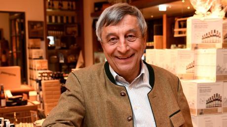 Sebastian Priller ist ein erfolgreicher Geschäftsmann. Er leitet die Augsburger Brauerei Riegele. Am Samstag feiert Priller seinen 70. Geburtstag.