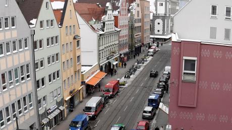 Die CSU will die Karolinenstraße verkehrsberuhigen.