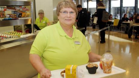 Barbara Kurzer leitete über sieben Jahre die Cafeteria im Mensagebäude der Universität. Sie schätzte auch den Kontakt zu den Studenten.