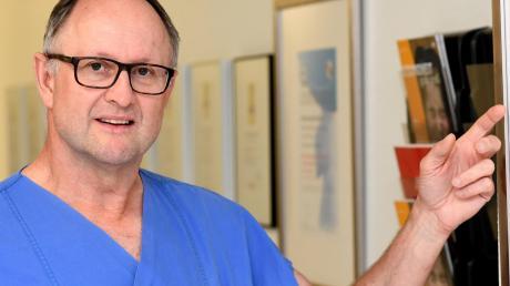 Prof. Matthias Anthuber leitet das Transplantationszentrum an der Universitätsklinik Augsburg. Der erfahrene Arzt kämpf vehement für eine Widerspruchslösung.