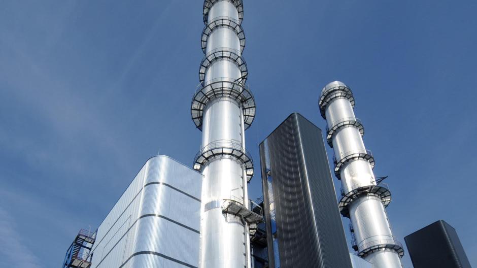 Das Gaskraftwerk Irsching östlich von Ingolstadt könnte in Zukunft wieder rentabel werden.