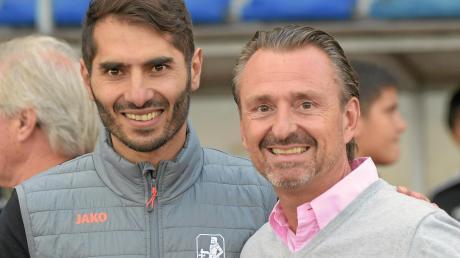Jürgen Reitmeier (rechts) würde am liebsten mit Trainer Halil Altintop auch in die neue Saison gehen.